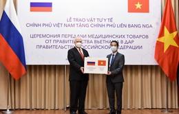 Trao tặng 150.000 khẩu trang vải kháng khuẩn hỗ trợ Nga phòng chống dịch COVID-19
