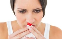 Chảy máu mũi - những thắc mắc thường gặp
