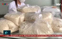 Gạo 1.000 đồng/kg trong mùa dịch