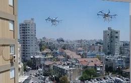 Israel giám sát cách ly bằng thiết bị bay không người lái