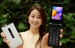 """LG ra mắt điện thoại """"vỏ sò"""" Folder 2, giá gần 4 triệu đồng"""
