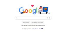 Google gửi lời tri ân đến các nhân viên đóng gói, vận chuyển và giao hàng