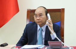 Thủ tướng Nguyễn Xuân Phúc điện đàm với Thủ tướng Thụy Điển về COVID-19