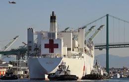 7 nhân viên tàu bệnh viện USNS Mercy mắc COVID-19
