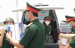 Hỗ trợ vật tư y tế cho các chốt kiểm dịch sâu trong biên giới Tây Nam