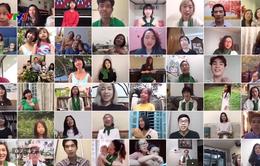 """Nhóm hợp xướng """"Gió xanh"""" làm MV online ủng hộ tinh thần chống dịch"""