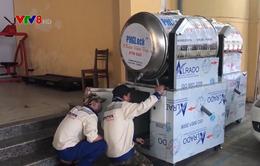 Đà Nẵng: Hơn 80 tấn gạo cấp phát qua máy tự động