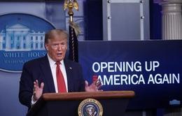 Tổng thống Trump lên kế hoạch mở cửa nền kinh tế Mỹ theo 3 giai đoạn