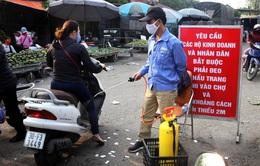 Hà Nội tổ chức xét nghiệm nhanh SARS-CoV-2 tại các chợ đầu mối