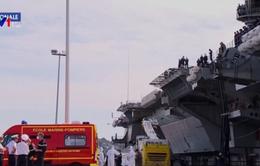 Gần nửa số thủy thủ trên tàu sân bay Pháp mắc COVID-19
