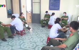 Hơn 300 chiến sĩ Công an tỉnh Phú Yên hiến máu tình nguyện