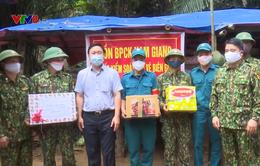 Lãnh đạo tỉnh Quảng Nam thăm CBCS Biên phòng trực gác phòng chống dịch