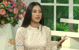 """Hoa hậu Tiểu Vy: """"Trong đợt dịch này, thái độ sống của mỗi người là điều rất cần thiết"""""""