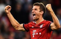 "Thomas Muller: ""Lewandowski tốt hơn Ronaldo"""