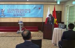 Lễ bàn giao 2 máy thở MV20 đầu tiên cho Việt Nam