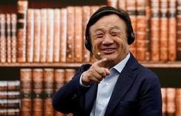 Nhà sáng lập Huawei tự tin dù đối mặt với khó khăn