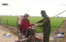 Quyết tâm bám chốt chống dịch ở biên giới Tây Nam