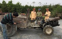 Thanh Hóa: Xử lý xe công nông tự chế