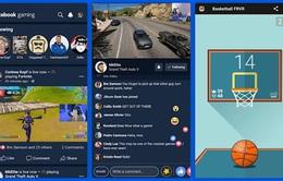 Facebook ra mắt ứng dụng trò chơi và phát video game trực tuyến