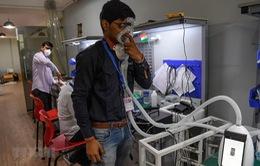 Ấn Độ chế tạo máy trợ thở giá rẻ không cần điện đối phó với dịch COVID-19