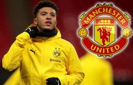 Man Utd đạt được thỏa thuận với Jadon Sancho