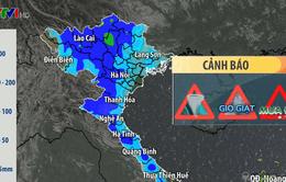 Không khí lạnh về gây mưa lớn ở Bắc Bộ, Trung Bộ
