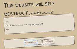 Kỳ lạ website tự hủy nếu người dùng ngừng đăng nội dung mới