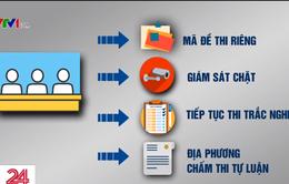 Các giải pháp giám sát chất lượng thi THPT