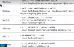 NHNN công bố đường dây nóng hỗ trợ người vay vốn tại 63 tỉnh thành