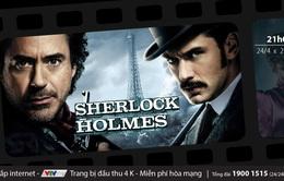 Đón xem những cuộc đấu trí tài ba của Thám tử Sherlock Holmes trên VTVcab