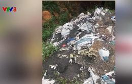 Quảng Trị kiểm tra chôn lấp chất thải trái phép