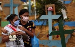 Brazil tăng kỷ lục ca tử vong vì SARS-CoV-2