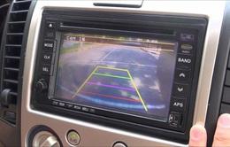 Bộ Công an đề xuất ô tô bắt buộc phải có camera lùi