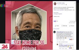 Thủ tướng Singapore làm gương cho người dân chống dịch COVID-19