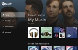 Spotify ra mắt phiên bản mới trên Android TV