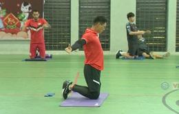 V.League 2020: CLB Viettel tập phục hồi thể lực thế nào để chuẩn bị cho sự trở lại?