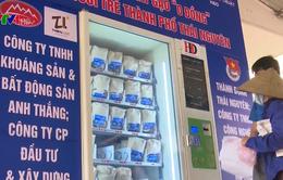 Thái Nguyên lắp đặt máy phát gạo miễn phí cho người nghèo