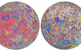 Bản đồ địa chất của Mặt trăng đã được hoàn thiện với độ chi tiết đáng kinh ngạc