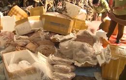 Gia tăng tình trạng vận chuyển thực phẩm bẩn