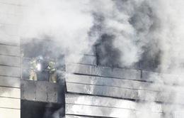 Hỏa hoạn tại công trường xây dựng của Hàn Quốc, 25 người thiệt mạng