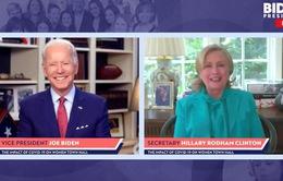 Bầu cử Mỹ: Bà Hillary Clinton ủng hộ ứng cử viên Joe Biden