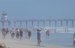 Người dân Mỹ đổ xô ra bãi biển bất chấp yêu cầu giãn cách xã hội