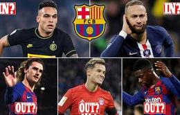 Barcelona và kế hoạch chuyển nhượng đầy tham vọng cho mùa giải tới