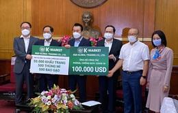 HLV Park Hang Seo cùng các tổ chức Hàn Quốc ủng hộ Quỹ phòng chống dịch COVID-19