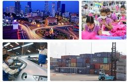 Tăng trưởng kinh tế Việt Nam giảm mạnh