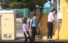 Phú Yên: Trường học chế tạo thành công máy rửa tay sát khuẩn tự động