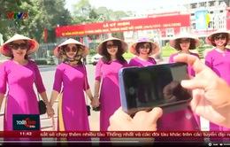 Không khí ngày 30/4 tại TP. Hồ Chí Minh