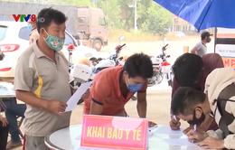 Kom Tum điều chỉnh quy định kiểm soát người và phương tiện đi qua vùng dịch