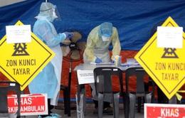 Malaysia xác định dây chuyền lây nhiễm liên quan tới 40.000 người
