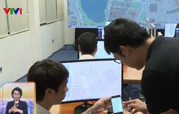 Người dân có thể đăng ký xét nghiệm nhanh COVID-19 qua ứng dụng Hà Nội Smart City